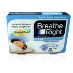 Breath Right Nasal Strips Clear-10-Large