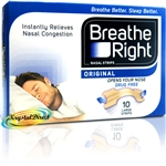 Breathe Right Nasal Strips TAN 10 LARGE