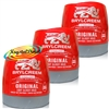 3x Brylcreem Original Light Glossy Hold Hair Styling Cream 250ml With Protein