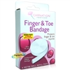 Carnation Finger & Toe Injuries Protect Tubular Bandage 4m Roll Refill Pack