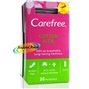 Carefree Aloe 20 Pantyliners Lightly Scented