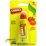 Carmex Cherry Moisturising Lip Balm tube 10 g SPF 15 Relief From Dry Chapped Lips