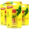 3x Carmex Mint Moisturising Lip Balm 10 g SPF 15 Relief From Dry Chapped Lips