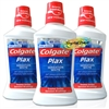3x Colgate Plax Sensation White Mouthwash 500ml - Zero Alcohol