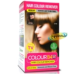 Colour B4 Ammonia Bleach Free Permanent Hair Colour Dye Remover Kit Regular
