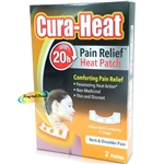 Cura Heat Neck & Shoulder Warming Pain Relief Heat Packs 2