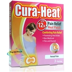 Cura Heat Air Activated Period Pain Relive Warming Relief Heat Packs 3