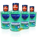 4x Cuticura Moisture Advanced Protect Antibacterial Hand Hygiene Gel 100ml