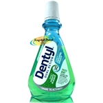 Dentyl Dual Action Alcohol Free Mouthwash Smooth Mint Rinse 500ml