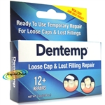 Dentemp Maximum Strength Dental Repair Lost Fillings Loose Caps 12 + Repairs