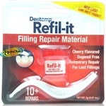 Dentemp Refilit Eugenol Free Lost Fillings Dental Cherry Cement 10 + Repairs