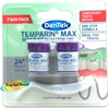 DenTek TWIN PACK Temporary Dental Cement Lost Tooth Fillings Repair & Loose Caps