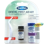 Dentek Dental First Aid Kit - Applicator, Tooth Saver, Temporary Filling