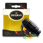 Denman D6 Be Bop Hair Brush Gentle Shampoo/Scalp Massage