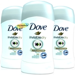 3x Dove Anti Perspirant Deodorant Deo Invisible Dry Stick 40ml 48H Protection