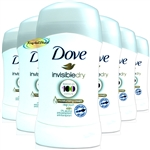6x Dove Anti Perspirant Deodorant Deo Invisible Dry Stick 40ml 48H Protection