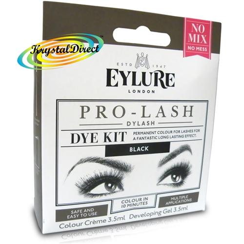7e1c8f6b61d Eylure Pro Lash Dylash Eye Lash Dye Kit Black Permanent Eyelashes Colour  Tint