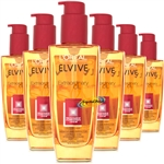 6x Loreal Elvive Extraordinary Oil Coloured Hair 100ml - Miracle Hair Protector