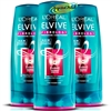 3x L'oreal Elvive Fibrology Thickening Conditioner 400ml