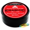 Erasmic Facial Skin Care Face Lather Shaving Soap Cream Bowl 90g