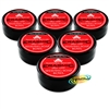6x Erasmic Facial Skin Care Face Lather Shaving Soap Cream Bowl 90g