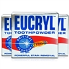 3x Eucryl Tooth Powder Original Teeth Powerful Stain Removal 50g