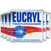 6x Eucryl Tooth Powder Original Teeth Powerful Stain Removal 50g