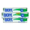 3x Eucryl Fresh Mint Fluoride Teeth Whitening Stain Removal Toothpaste 50ml