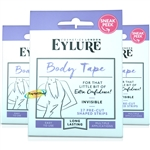 3x Eylure Body Tape