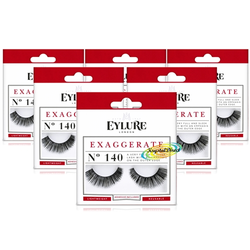 dbafaef7efa 3x Eylure Cheryl Lengthening No. 114 Medium False Strip Eyelashes ...