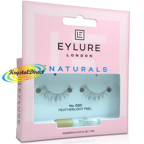 2f2b7dffd3d Eylure Naturals No. 020 False Strip Eyelashes Natural Look Weightless Feel