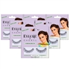 6x Eylure Cheryl Lengthening No. 114 Medium False Strip Eyelashes Lightweight