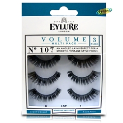 Eylure Naturalites Evening Wear 3 Pairs - 107