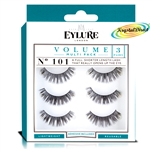 Eylure Naturalites Evening Wear 3 Pairs - 101