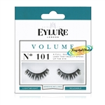 Eylure Volume No. 101 Round False Strip Eyelashes Full Lash Lightweight