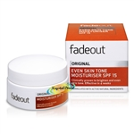 Fade Out Original Even Skin Tone Moisturiser SPF15 50ml Natural Ingredients