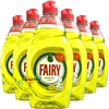 6x Fairy Original LEMON Washing Up Dishwashing Liquid 433ml