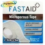 Fast Aid Microporous Tape 2.5cm x 5 m