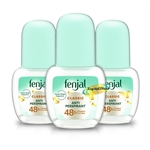 3x Fenjal Creme Deodorant Roll on Cream 50ml