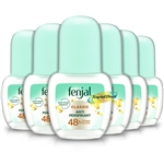 6x Fenjal Creme Deodorant Roll on Cream 50ml