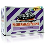 24x Fisherman's Friend Sugar Free Blackcurrant Menthol Lozenges Sweeteners 25g