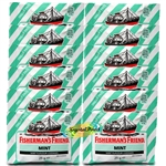 12x Fisherman's Friend Mint Sugar Free Lozenges Sweeteners 25g