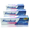 3x Fixodent Plus Zero 0% Percent Denture Adhesive Cream 40g No Added Zinc