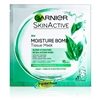 Garnier Skin Active Moisture Bomb Hydrating Re Balancing Green Tea Extract Face Tissue Mask 32g