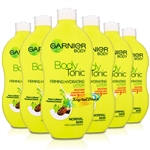 6x Garnier Body Tonic Firming Hydrating Lotion 400ml