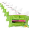 6x Tea Tree Cleansing 25 Wipes