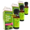 3x Derma V10 Australian Pure Tea Tree Oil 10ml