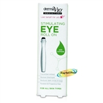 Derma V10 Revitalising Eye Roll On 15ml Caffeine Cucumber Extract No Paraben