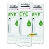 3x Derma V10 Revitalising Eye Roll On 15ml Caffeine Cucumber Extract No Paraben