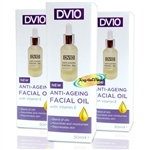 3x Derma V10 Moisturising Daily Skin Care Anti Ageing Face Facial Night Oil 30ml